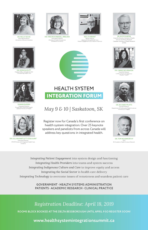 Health Integration Summit - Poster