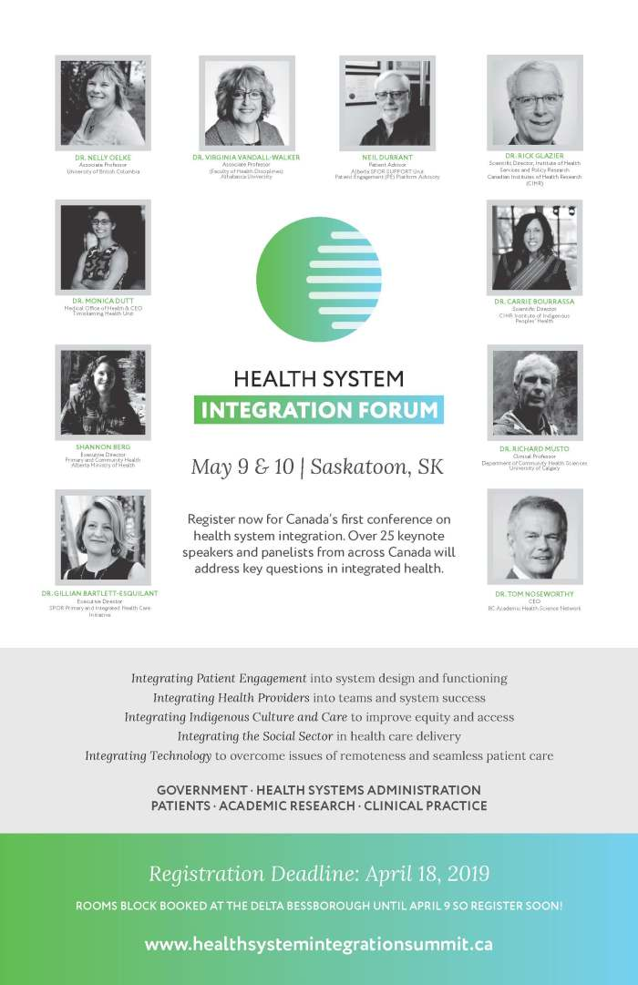 Health Integration Summit - Poster